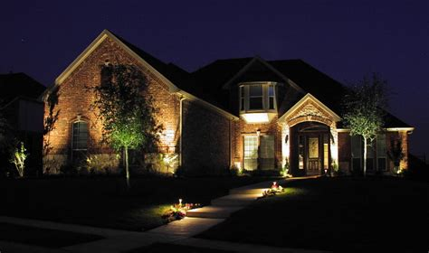 lights on landscape landscape lighting aqua turf
