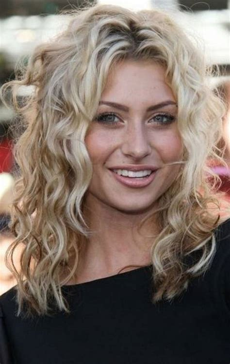 haircuts curly hair long face 25 best curly short hairstyles for round faces fave