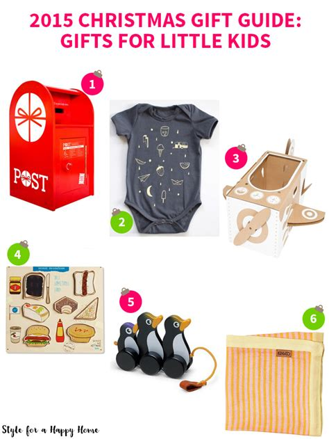 2015 christmas gift guide gifts for little kids style
