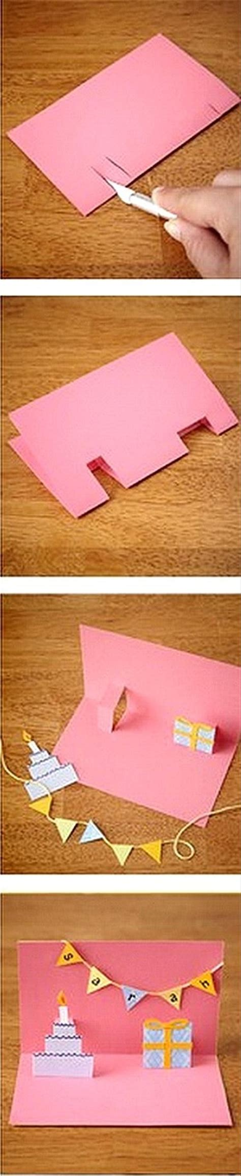 how to make pop out birthday cards make a pop out birthday card crafts dump a day