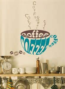 Coffee Wall Stickers Vinyl Wall Decal Sticker Art Coffee