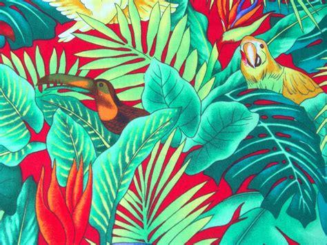 Print Linen Rentals Orlando   Parrot Macaw Print Linen