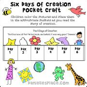 themes in fulani creation story creation crafts and activities for sunday school and