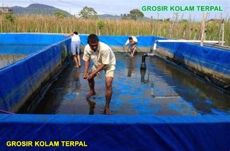 Jual Kolam Terpal Pekanbaru grosir kolam terpal murah agro terpal