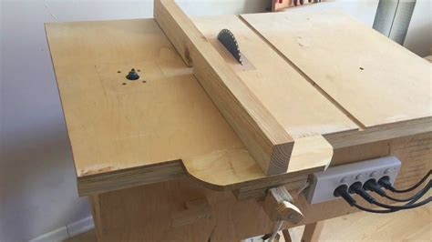 building    workshop homemade table  router table