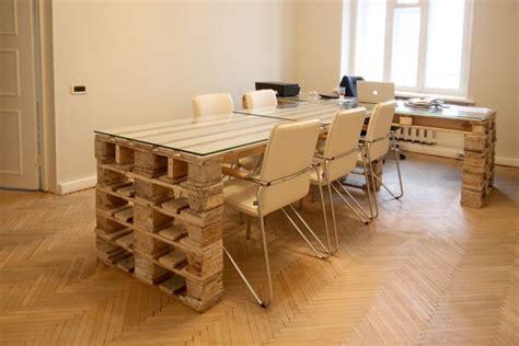 Table De Bureau En Bois by Bureau En Bois 34 Id 233 Es Diy Tr 232 S Cool En Palette Europe