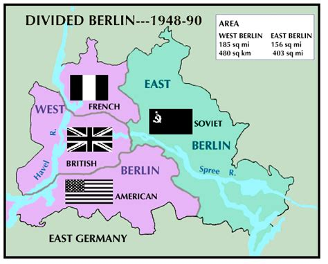 germany divided map problems in berlin