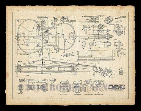 blueprint of a 19th c violin maker s plans 11 x color print of a 19th century violin maker s plans 11 quot x 14 quot