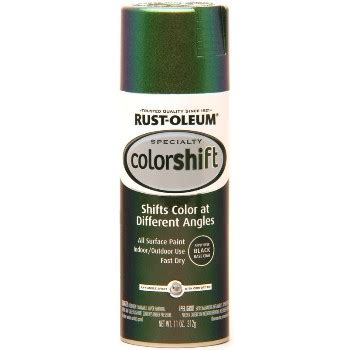 buy the rustoleum 254861 colorshift paint gamma green