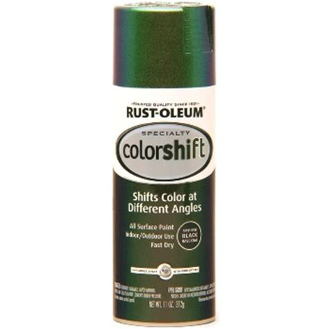 buy the rustoleum 254861 colorshift paint gamma green spray hardware world
