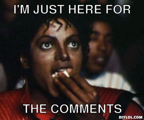 Michael Jackson Eating Popcorn Meme - michael jackson popcorn meme generator i m just here for