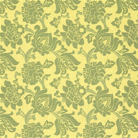 Upholstery Arbor by Mezzanine Arbor Yellow And Green Leaves Woven Drapery And