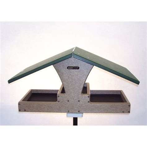 shop birds choice recycled plastic hopper bird feeder at