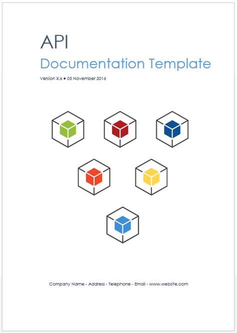 Rest Api Documentation Template by Rest Web Api Documentation Template Ms Word