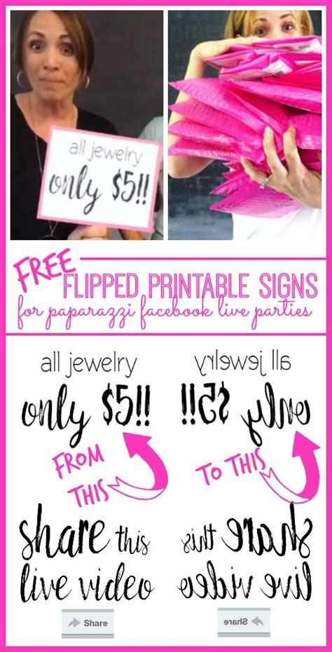Printable Paparazzi Signs
