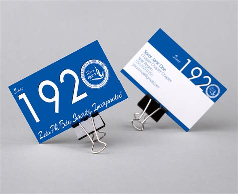 zeta phi beta colors zeta phi beta 1920 business card color me finer