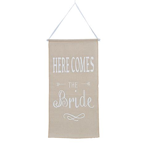 Wedding Banner Here Comes The by Here Comes The Banner