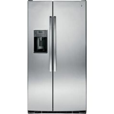 ge adora 25 4 cu ft side by side refrigerator in