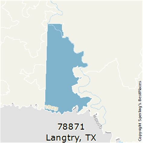 langtry texas map best places to live in langtry zip 78871 texas