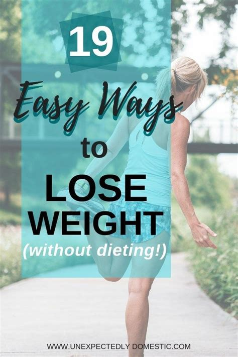 How To Lose Weight Naturally And Permanently 19 Tricks