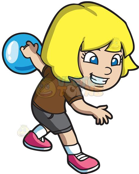 clipart bowling an energetic enjoying the of bowling clipart