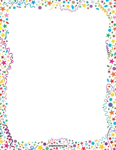 clipart borders printable borders and frames clip clip net