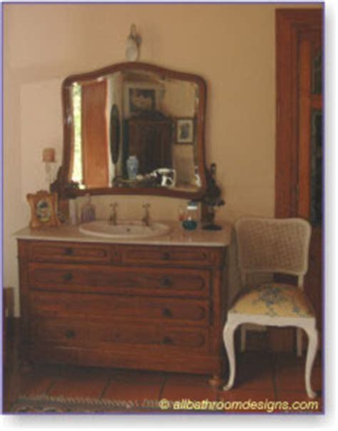vintage bathrooms let s face the music antique bathroom vanity some cost effective options