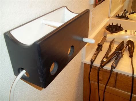 Hair Dryer And Straightener Caddy 34 best images about hair dryer curling iron storage ideas