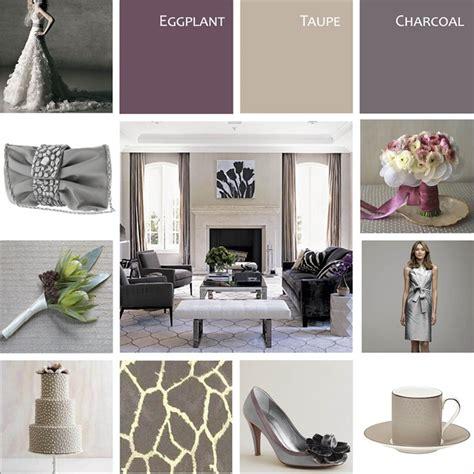 grey purple ideas isnt this peach gray color scheme just oh so lovely image via