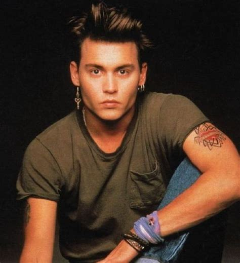johny b hairstykes johnny depp sexy 80 s hairstyle from 21 jumpstreet all