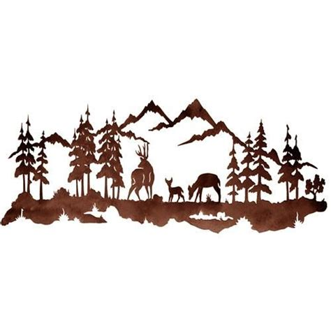 deer mountain clipart clipground