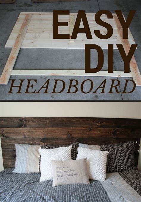 Make Your Own Wooden Headboard by 17 Best Ideas About Make Your Own Headboard On