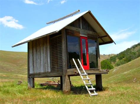 Simple Cabin Designs by Awesome Shinto Inspired Sleeping Cabin Made From Reclaimed