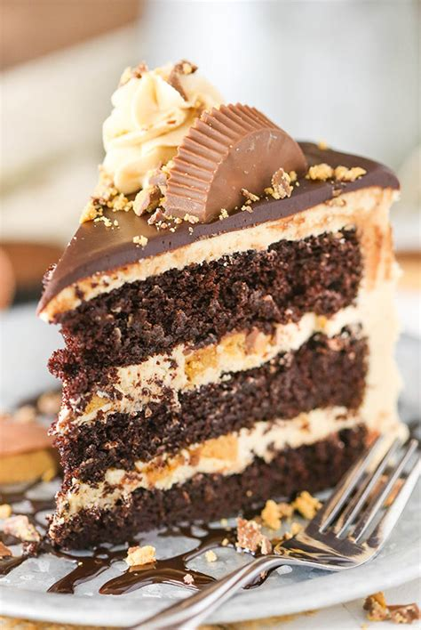 peanut cake peanut butter chocolate layer cake and sugar