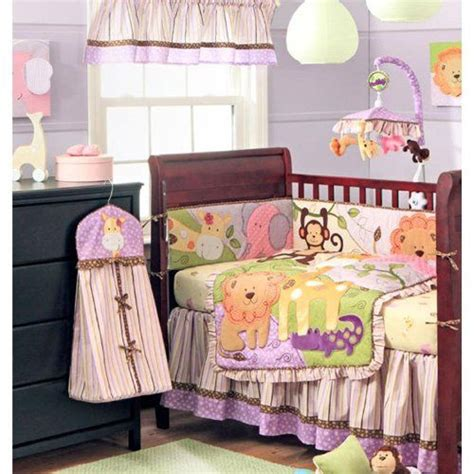 Safari Nursery Bedding Sets 17 Best Images About Safari Crib Bedding For On Purple Baby Fitted Sheets And