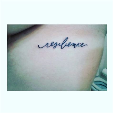 resilience tattoo 17 migliori idee su resilience su