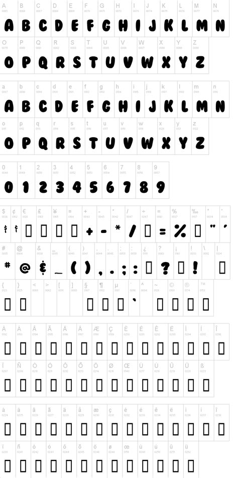 bubblegum font dafontcom
