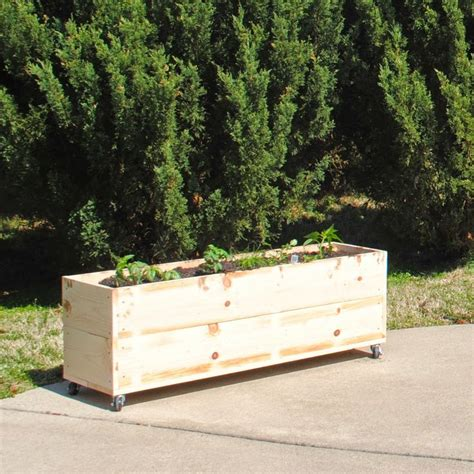 bed on wheels diy raised garden bed on wheels outdoor space and garden pinte