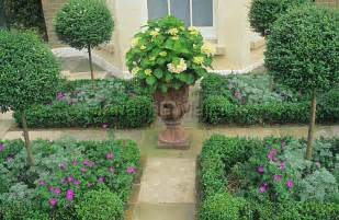 French Formal Garden - traditional garden and parterre shoot