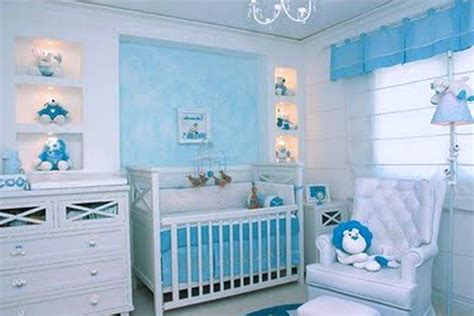 cute baby boy room themes baby nursery lovely white furniture set wooden blue kids