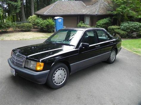 1992 Mercedes 190e 2 3 Find Used 1992 Mercedes 190e 2 3 Runs Drives