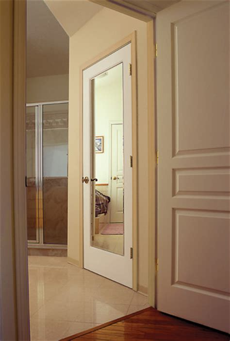 Interior Doors With Mirrors Closet Door Mirrors