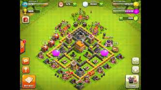 Clash of clans defense strategy town hall level 6 2 youtube