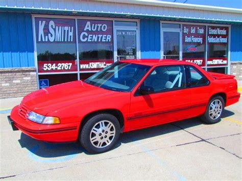 purchase used 1993 chevrolet lumina euro one owner red low miles survivor like new in north