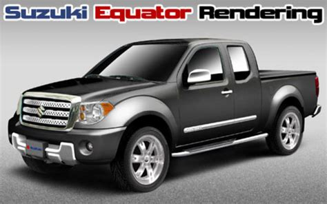 2009 suzuki equator to be unveiled at the chicago auto show car news top speed