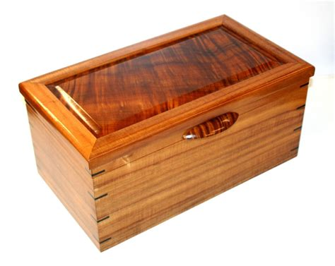 Handmade Humidor - crafted custom humidor by carolina wood designs