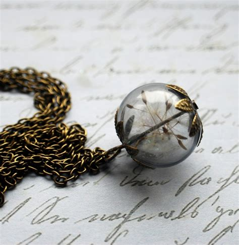 make a wish jewelry dandelion necklace 2 make a wish by junmoore on deviantart