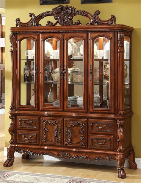 Hutch Furniture Buy Furniture Of America Cm3557hb Medieve Buffet Hutch