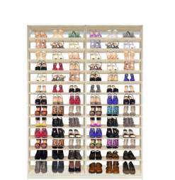 Shoe Closet Organization by Isa Custom Shoe Closet Module Shoe Storage