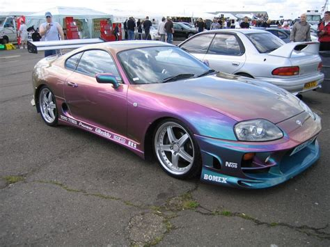 pearlescent toyota supra iridescent pearl paint california and toyota supra